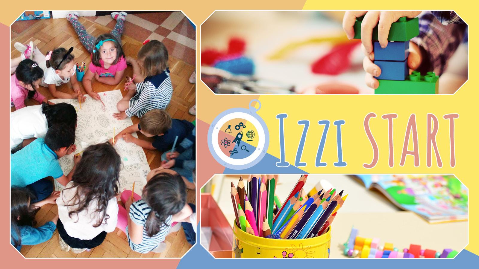 Izzi Start предлага устойчиво обучение за деца от 3 до 5 години