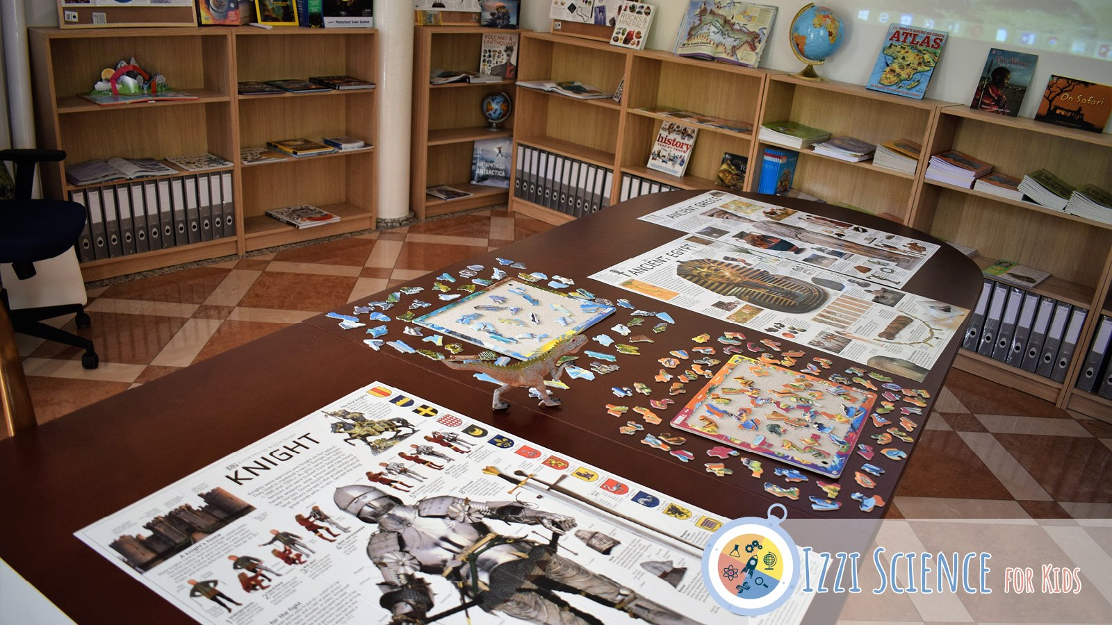 Частно начално училище Izzi Science for Kids кабинет по география