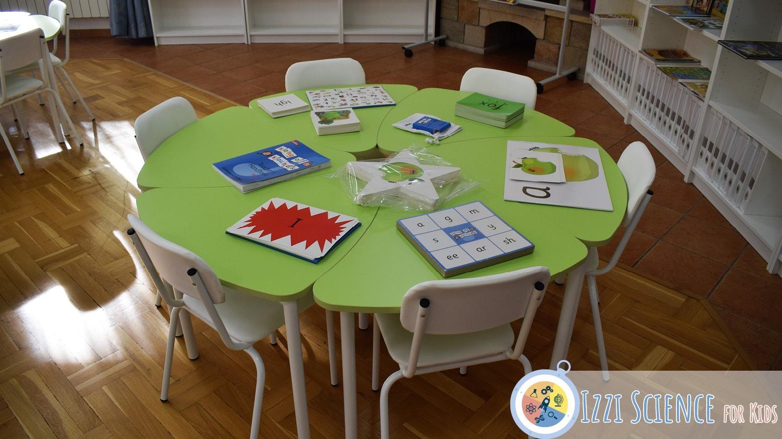Частно начално училище Izzi Science for Kids класна стая